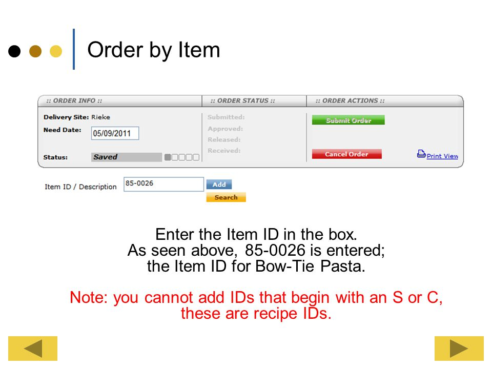 Finding an Item ID There are many ways to find an Item ID. Item IDs can be found on your production records, inventory worksheets, receivers and previ