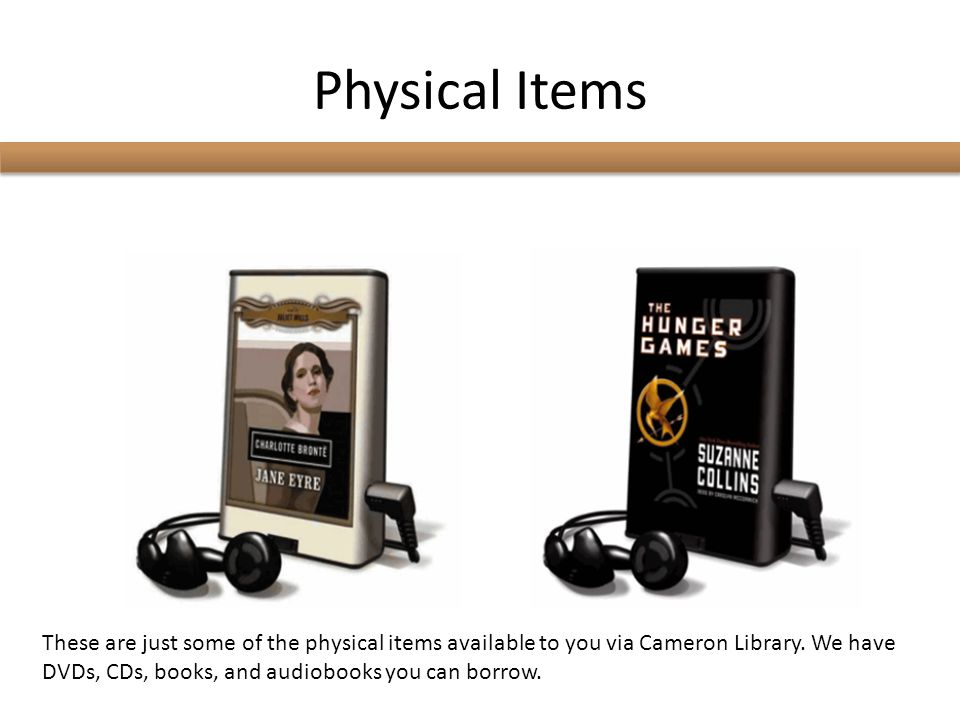 Physical Items Using the Classic Catalog tab is the best way to search for physical items such as books, DVDs, and CDs located on the library's shelves.
