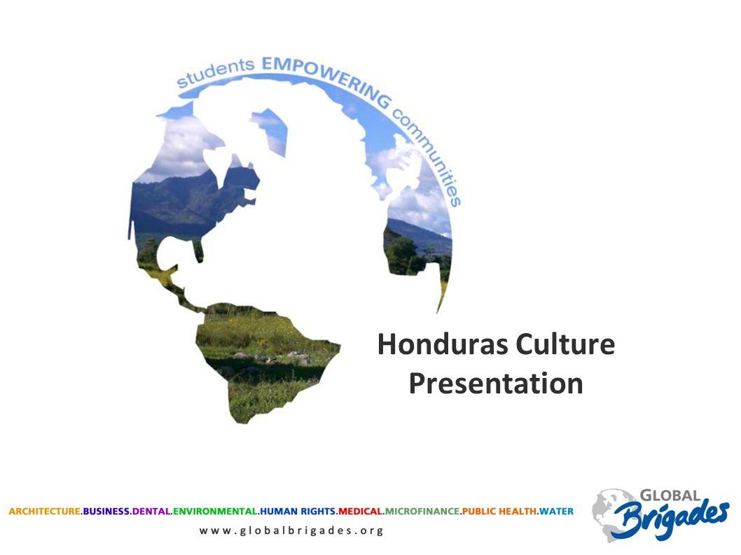 Honduras Culture Presentation