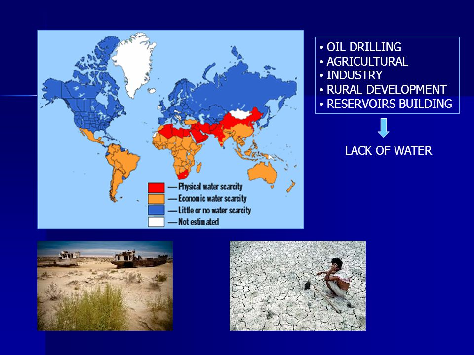 OIL DRILLING AGRICULTURAL INDUSTRY RURAL DEVELOPMENT RESERVOIRS BUILDING LACK OF WATER