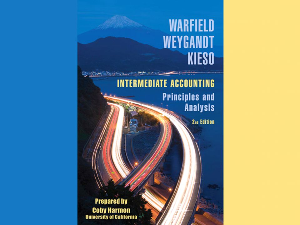 Appendix H-2 APPENDIX G ACCOUNTING FOR DERIVATIVE INSTRUMENTS INTERMEDIATE ACCOUNTING Principles and Analysis 2nd Edition Warfield Wyegandt Kieso