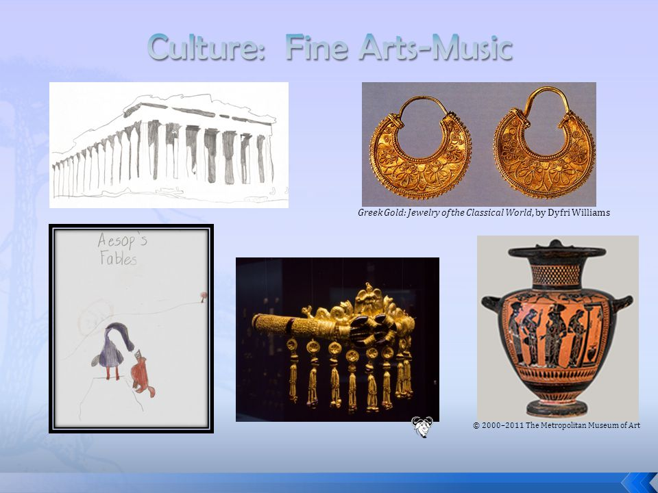 Greek Gold: Jewelry of the Classical World, by Dyfri Williams © 2000–2011 The Metropolitan Museum of Art