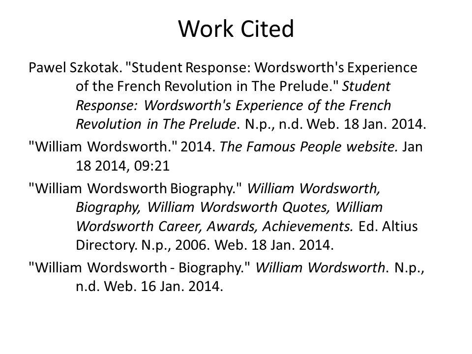 Work Cited Pawel Szkotak.