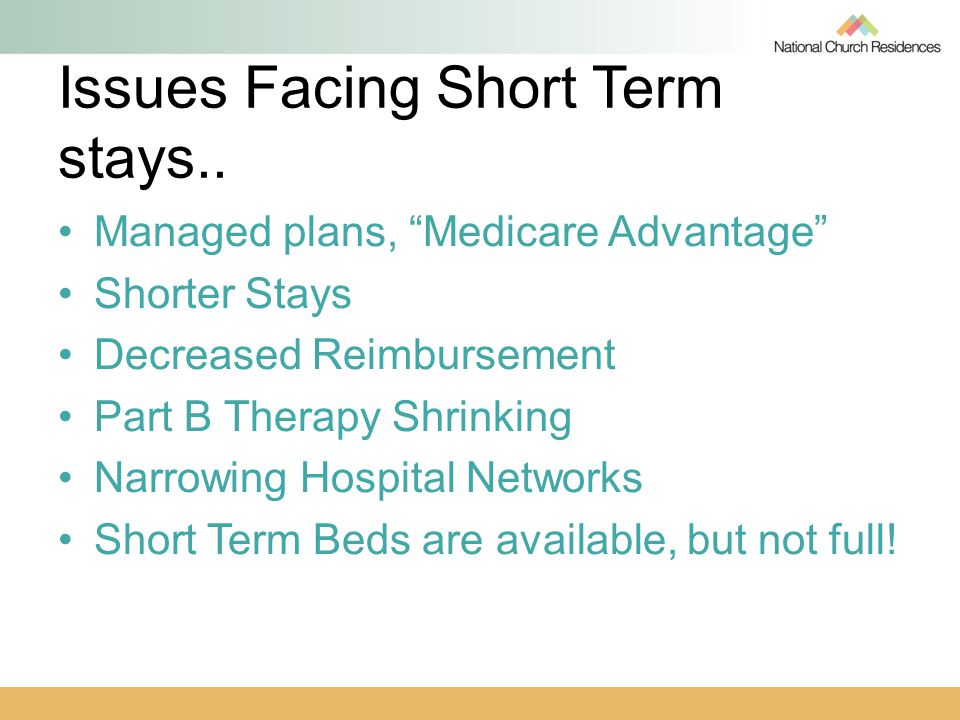 Issues Facing Short Term stays..