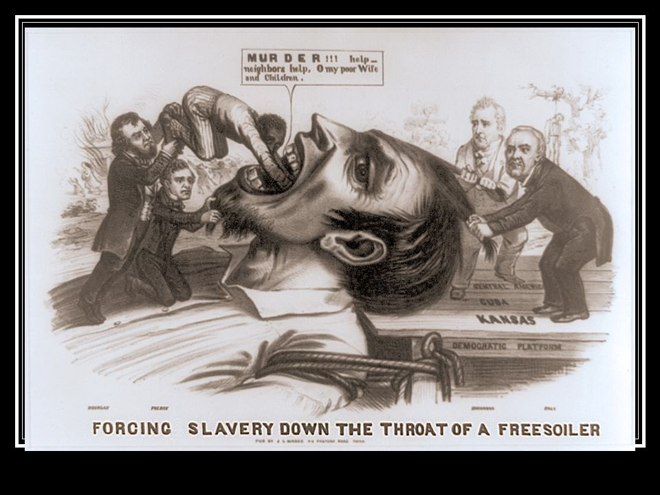 John Brown Abolitionist Involved in the Underground Railroad Moves to Kansas to support the anti- slavery cause Responds to violence by proslavery men by organizing the murder of 5 proslavery settlers: Pottowatomie Creek Massacre