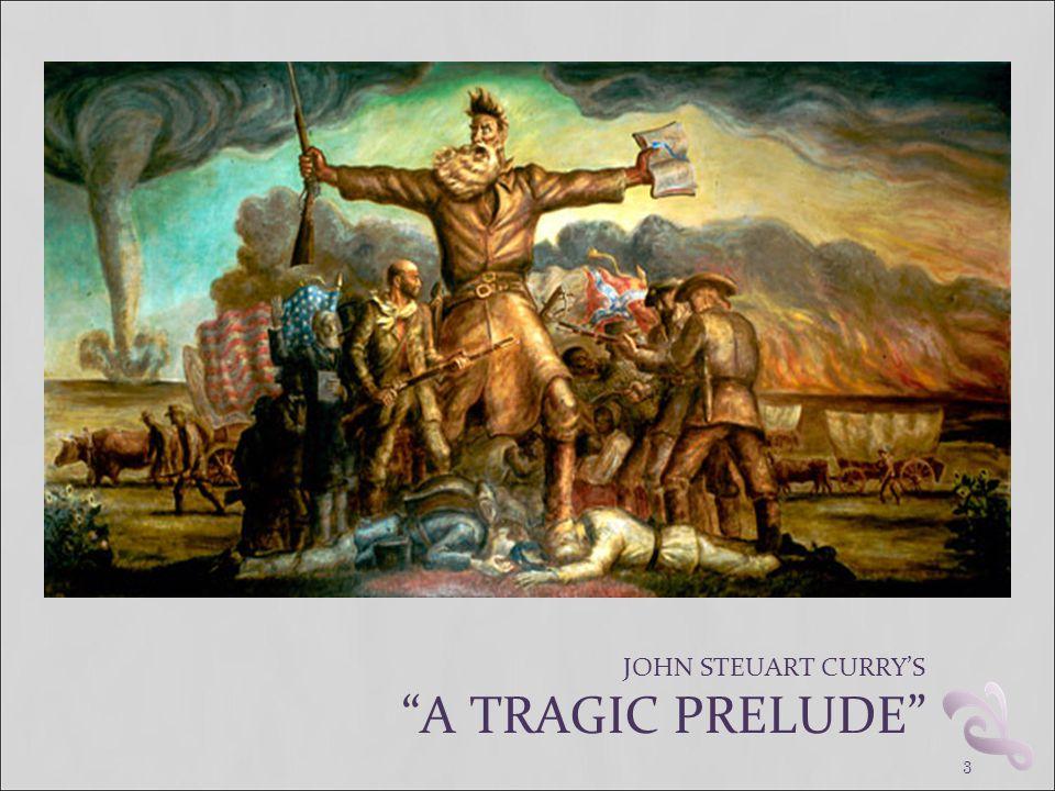 "3 JOHN STEUART CURRY'S ""A TRAGIC PRELUDE"""