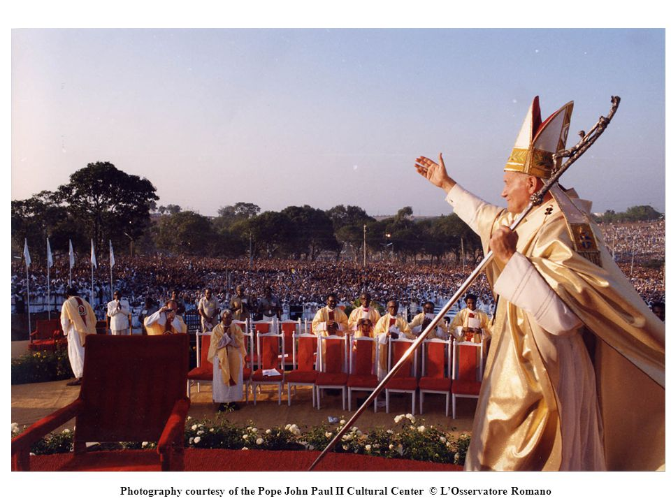 Photography courtesy of the Pope John Paul II Cultural Center © L'Osservatore Romano