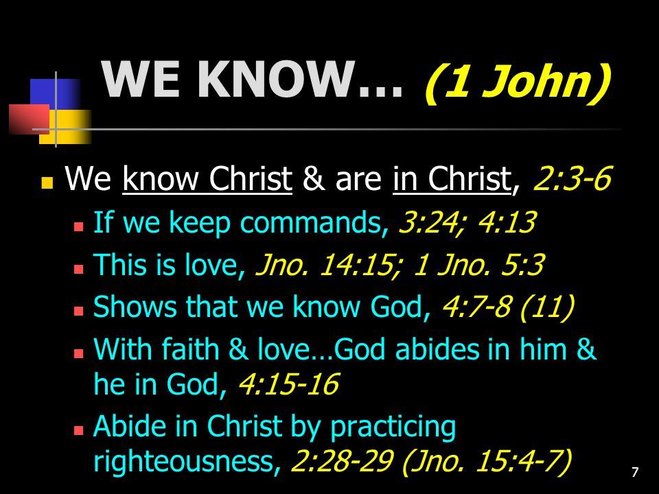 18 Summary, 5:18-20 1.