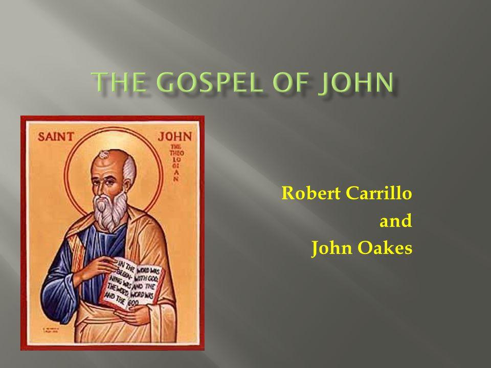 Robert Carrillo and John Oakes