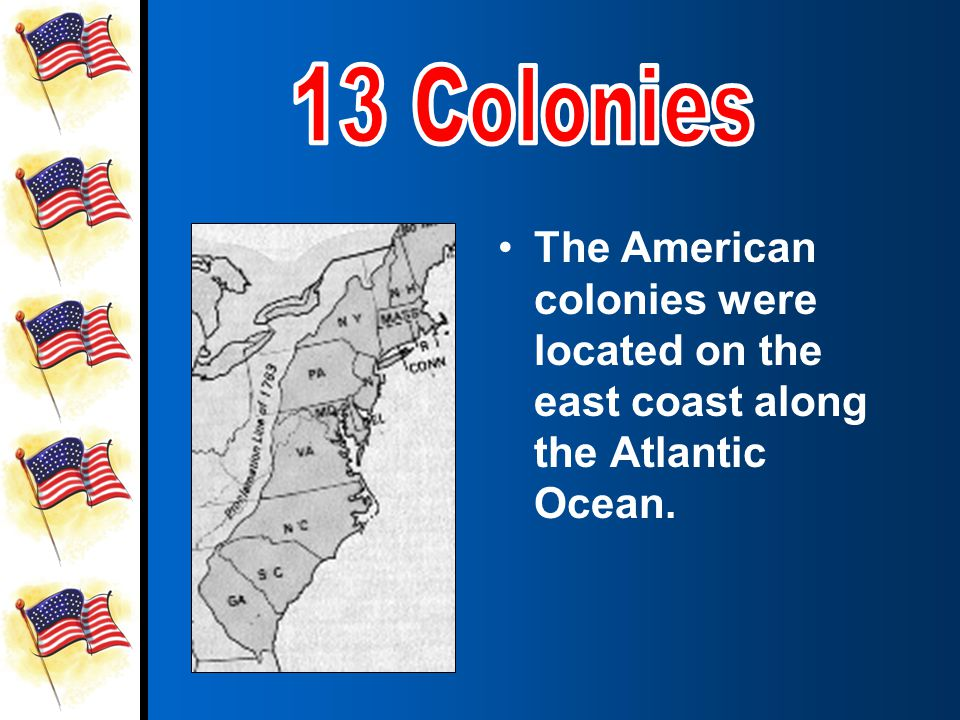 The 13 American colonies used to belong to Great Britain.The 13 American colonies used to belong to Great Britain.