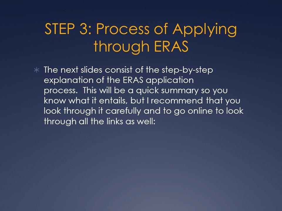 EFDO TOKEN  Obtain EFDO Electronic Token  This needs to be done before you can even get an ERAS account.