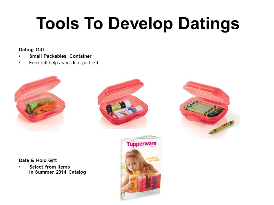 Tools To Develop Datings Dating Gift Small Packables Container Free gift helps you date parties.