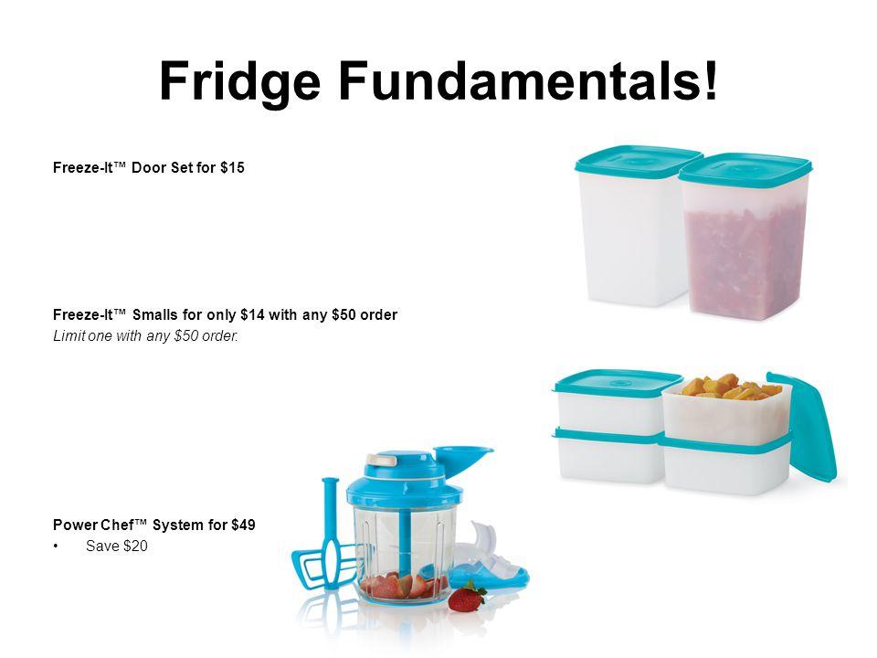 Fridge Fundamentals.