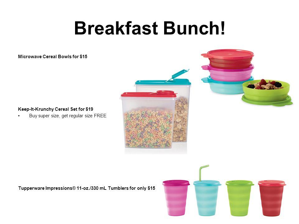 Breakfast Bunch.