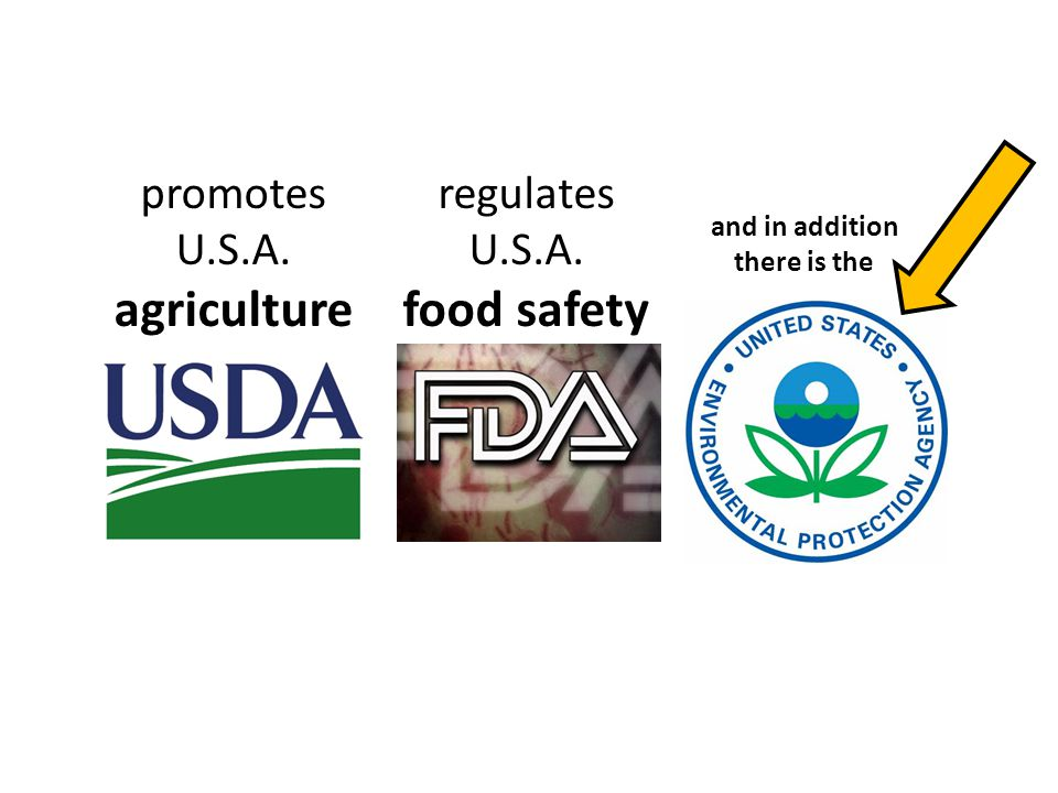 promotes U.S.A. agriculture regulates U.S.A. food safety and in addition there is the