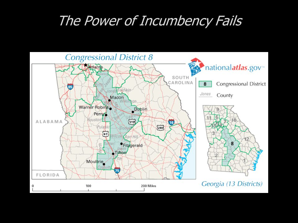 The Power of Incumbency Fails