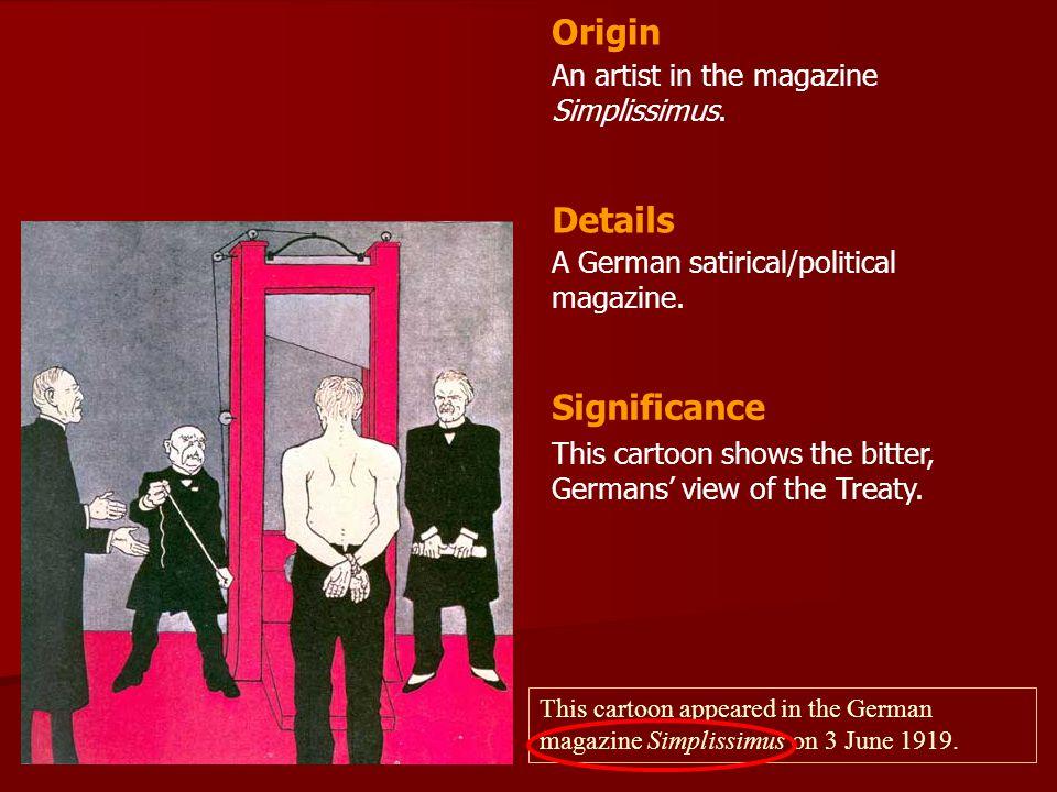 An artist in the magazine Simplissimus.A German satirical/political magazine.