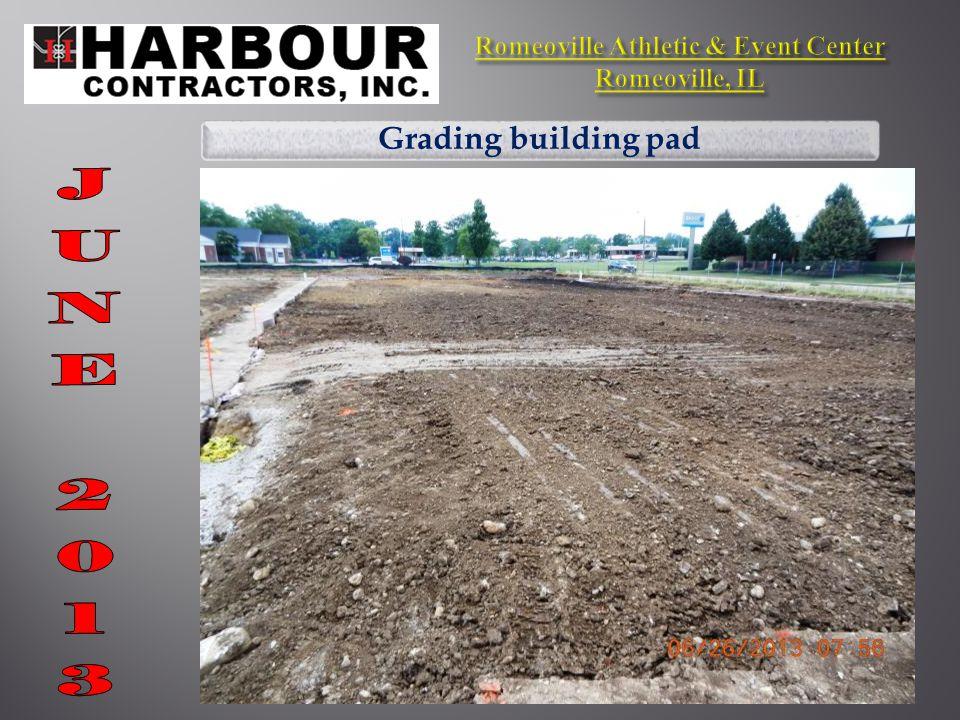 Grinding parking lot asphalt