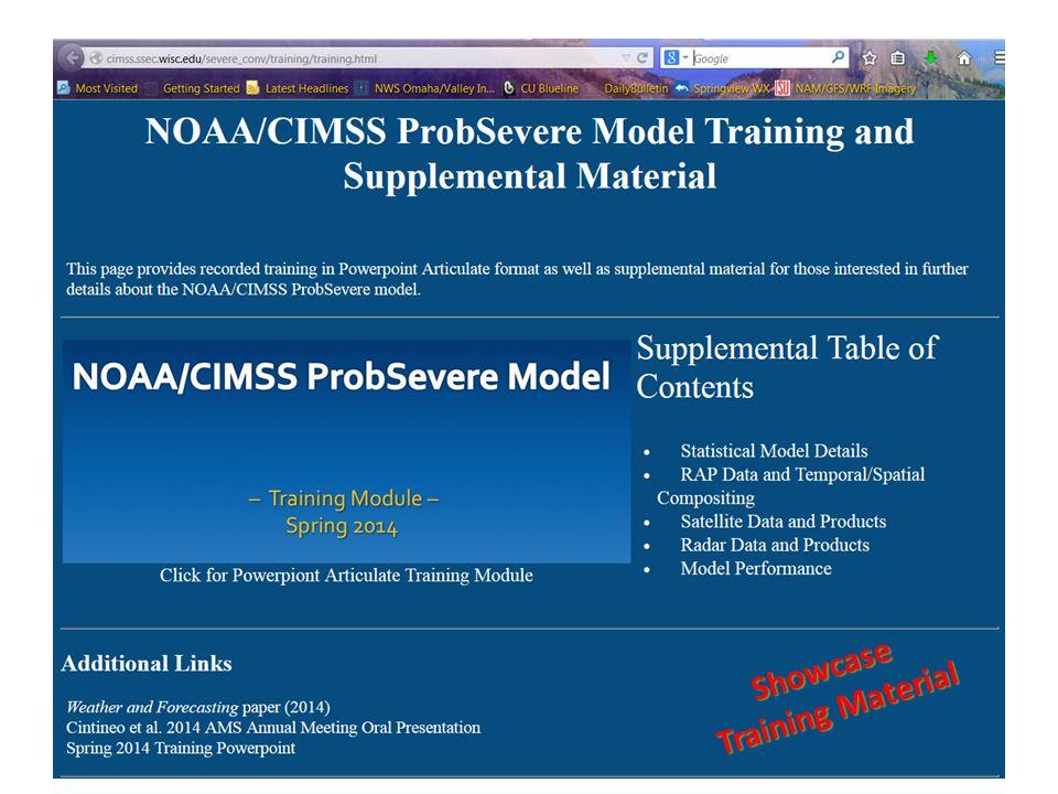 Showcase Training Material Training Material