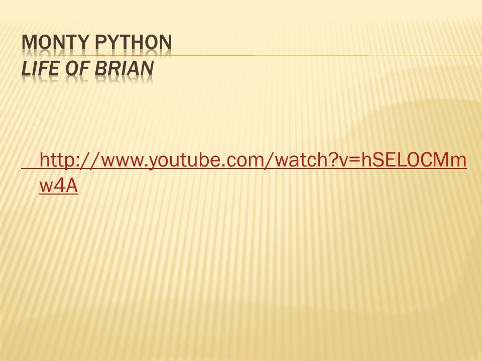 http://www.youtube.com/watch?v=hSELOCMm w4A
