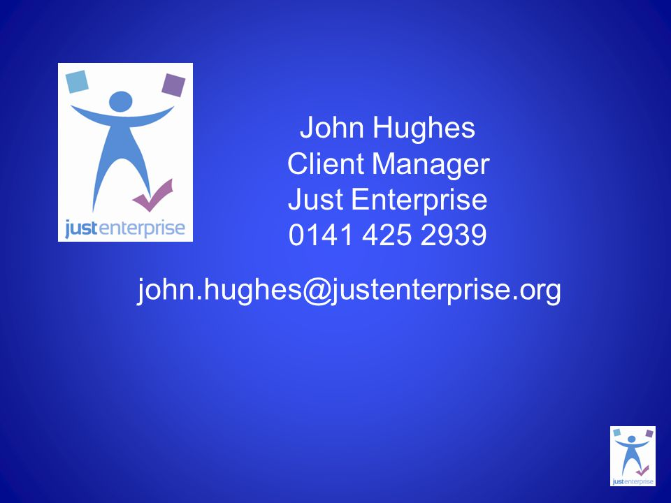 John Hughes Client Manager Just Enterprise