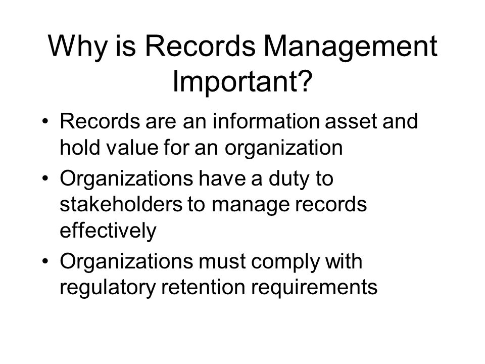 Points to Remember Respect and secure Personal Information Respect privacy of student records Know when NOT to destroy records Know when and how to properly destroy official records Use discretion with all other records
