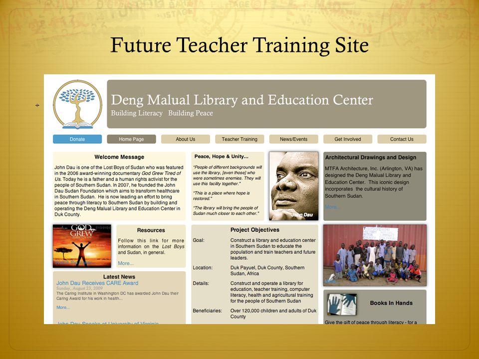 Future Teacher Training Site 