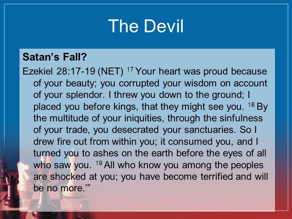 The Devil Satan's Fall.