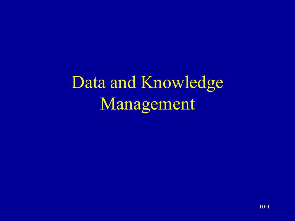 10-11 Data Warehousing, Mining, and Analysis Transaction versus analytical processing Data warehouse and data marts Knowledge discovery, analysis, and mining