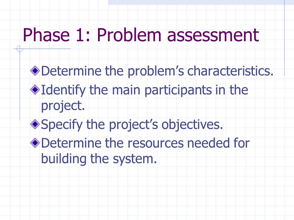 Evaluation Intelligent systems are designed to solve problems that quite often do not have clearly defined right and wrong solutions.