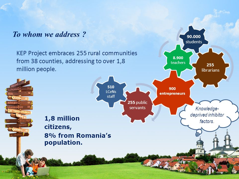 A unique initiative in Romania, www.ecomunitate.ro is the most complex content site founded by the Government.