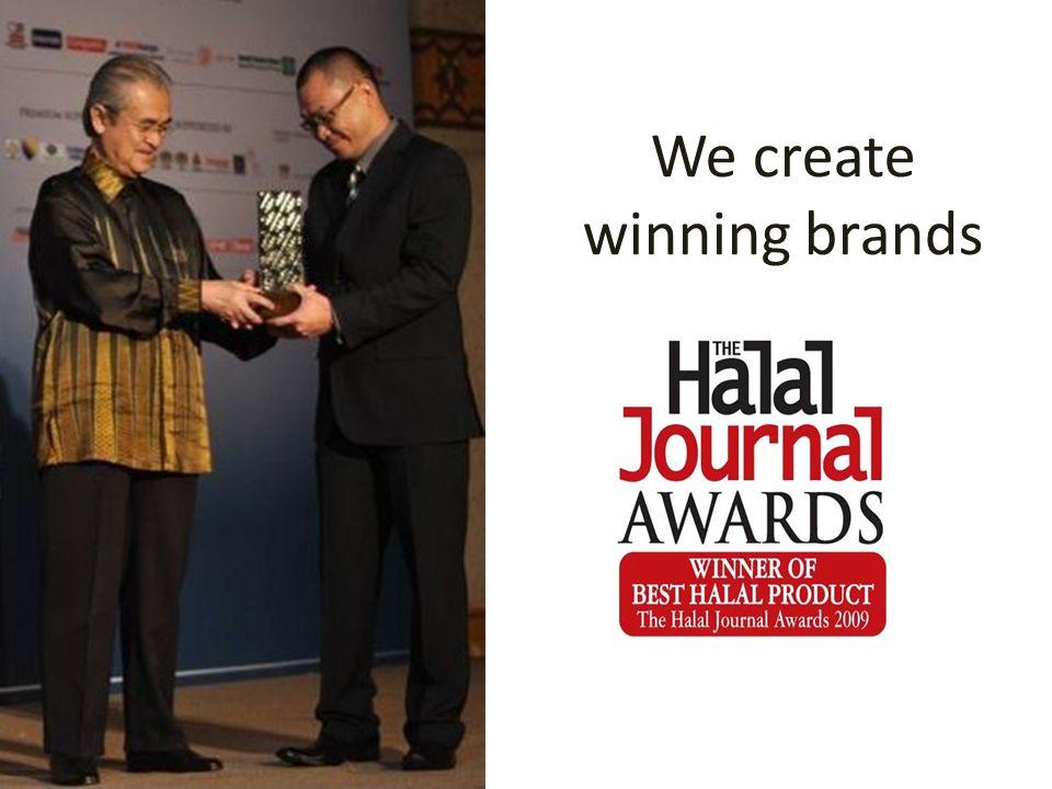 We create winning brands