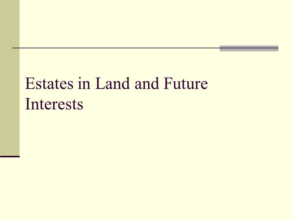 Trusts vs. Legal Interests Problem 9, page 279