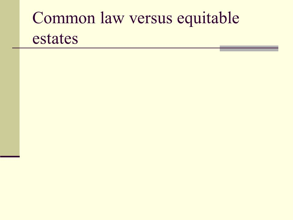 White v.Brown-The Fee Simple Absolute What are the facts of this case.
