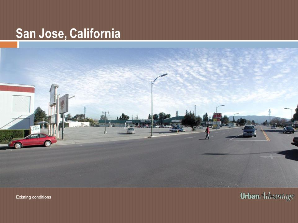 San Jose, California Existing conditions