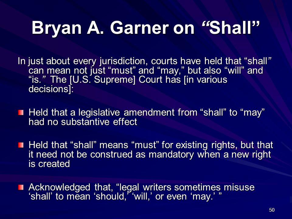 50 Bryan A.