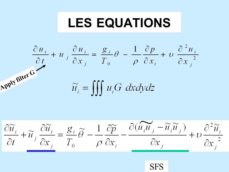 Reynolds averaged model (RAN) f Apply ensemble avg  non-turbulent