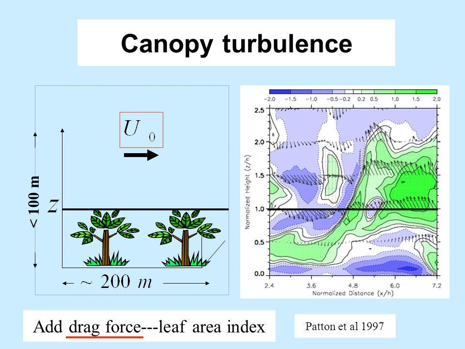 Oceanic boundary layer Add vortex force for Langmuir flows McWilliams et al 1997