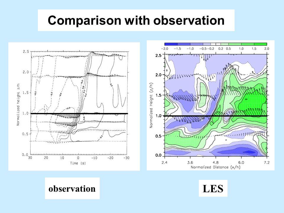 Canopy turbulence Add drag force---leaf area index Patton et al 1997 < 100 m