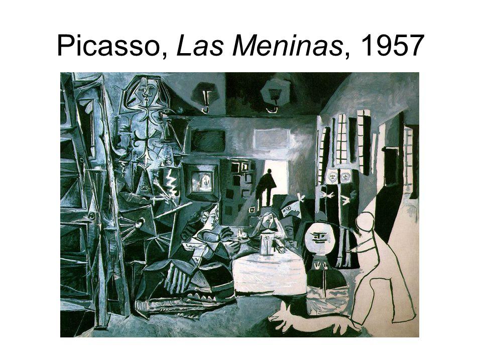 Picasso, Las Meninas, 1957