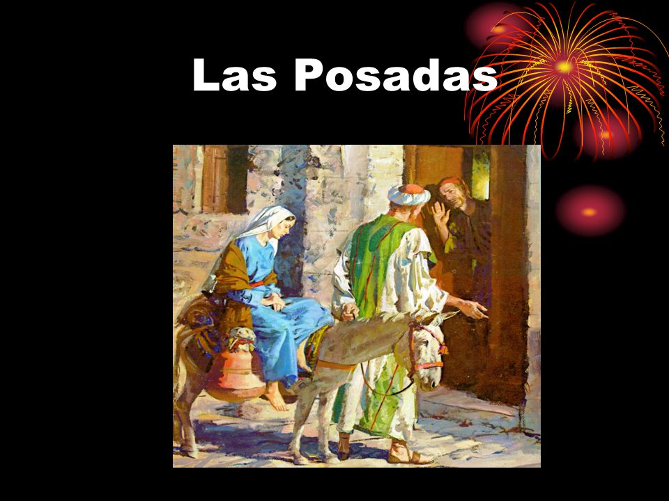 The Birth of the Baby Jesus Symbolizing the journey made by Joseph and the Virgin Mary.