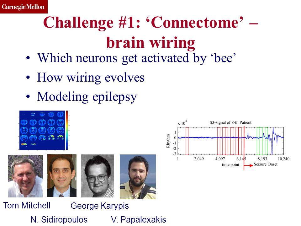 CMU SCS Challenge #1: 'Connectome' – brain wiring KDD 13 BIGMINE(c) 2013, C.