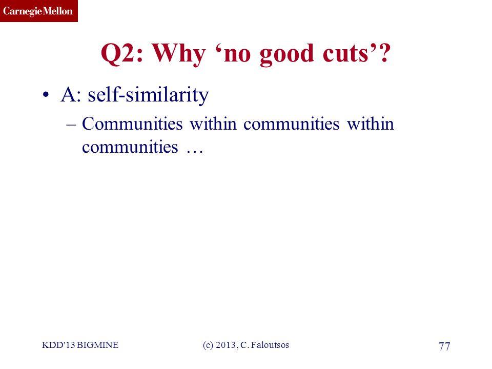 CMU SCS Q2: Why 'no good cuts'.