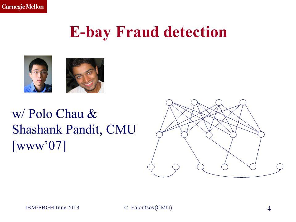 CMU SCS IBM-PBGH June 2013C.