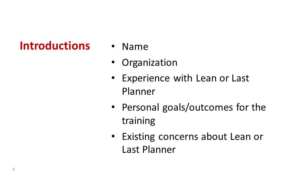 Weekly Work Plan 35