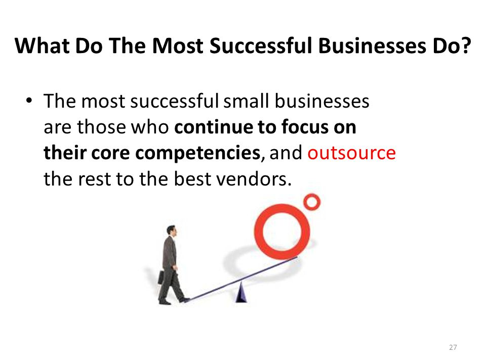 What Do The Most Successful Businesses Do.