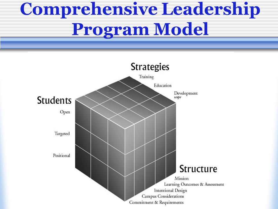 Comprehensive Leadership Program Model
