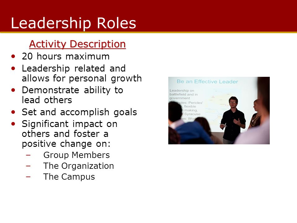 Center for Leadership and Involvement Reflection on Group Do you know how to collaborate with others.