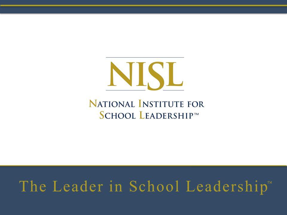 The Leader in School Leadership ™