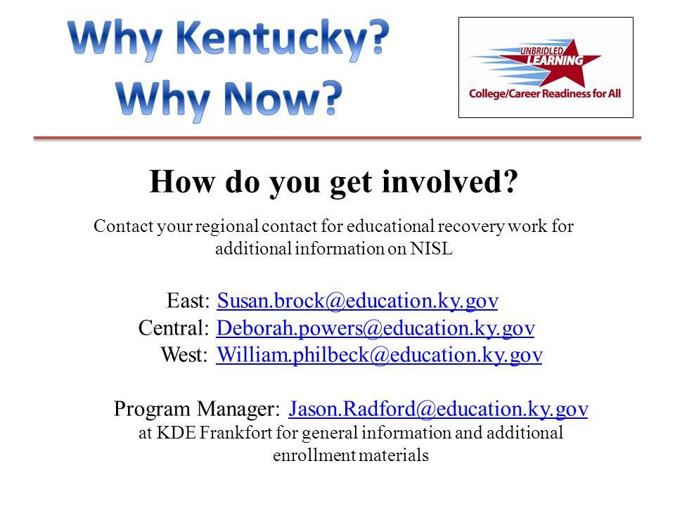 How do you get involved.